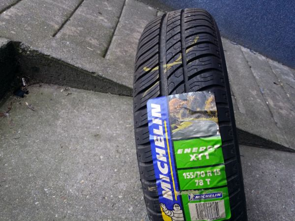 155/70R15 Michelin Energy XT1  78T